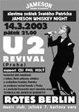 U2 revival 14. 3. 2003